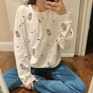 Graphic Dreamcatcher Sweater